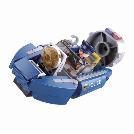Bild på Politi luftpudebåd, Sluban Hoovercraft