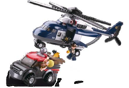 Bild på Stor Politihelikopter, Sluban Big Police Helicopter