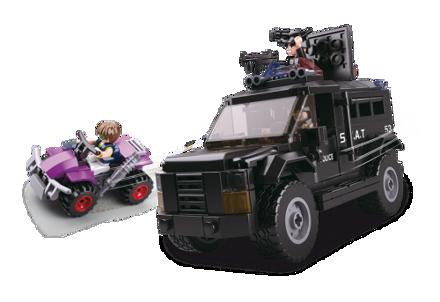 Bild på SWAT lastbil, Sluban SWAT Truck