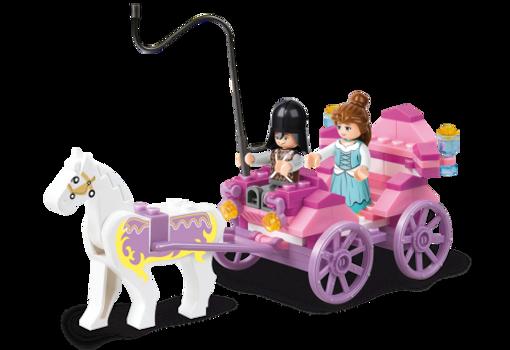 Billede af Prinsesse hestevogn, Sluban Princess Carriage M38-B0239