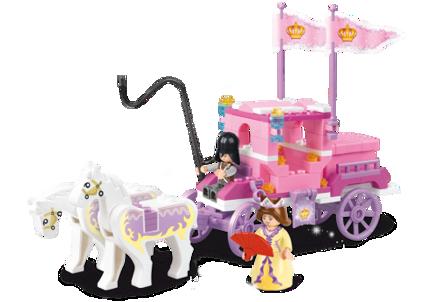 Billede af Kongelig hestekaret, Sluban Royal Carriage M38-B0250