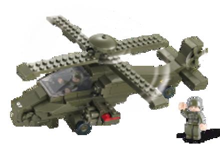 Bild von Attack Helicopter,Sluban Attack Helicopter M38-B0298