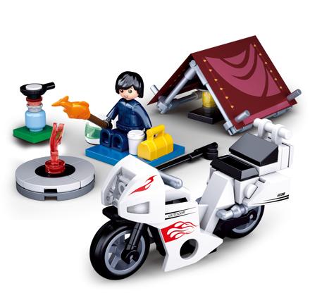 Bild von Sluban - Camping Motorcycle M38-B0717E