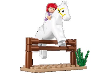 Billede af Springhest, Sluban Jumping Horse M38-B0517