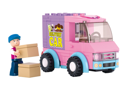 Billede af Delivery Van,Sluban Delivery Van M38-B0520