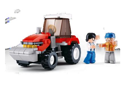 Bild von Traktor, Sluban Tractor M38-B0556