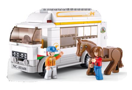 Bild von Hestetransporter, Sluban Horse Truck M38-B0559