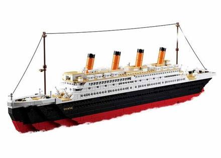 Billede af Titanic stor, Sluban Titanic Big M38-B0577