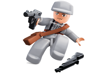 Bild von Sluban WWII Chinese Officer M38-B0581K