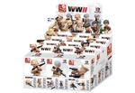 Billede af Boxset Sluban WWII Soldiers Display with 12 Boxes M38-B0582