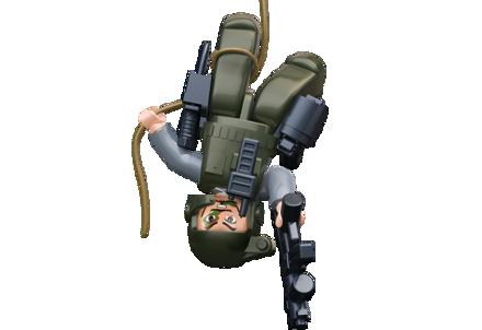 Bild von Sluban Cop With Helmet And Camouflage M38-B0585B