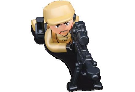 Bild von Sluban Cop With Sniper Rifle M38-B0585F