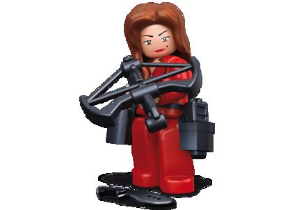 Bild von Sluban Robber Lady In Red M38-B0585J