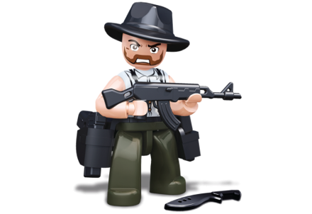 Bild von Sluban Robber With Cowboy Hat M38-B0585H