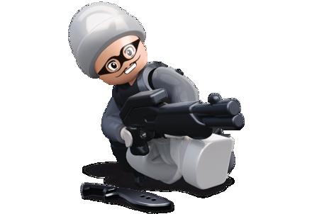 Bild von Sluban Robber With Gray Hat M38-B0585L