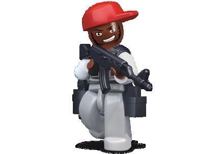 Bild von Sluban Robber With Red Baseball Cap M38-B0585K
