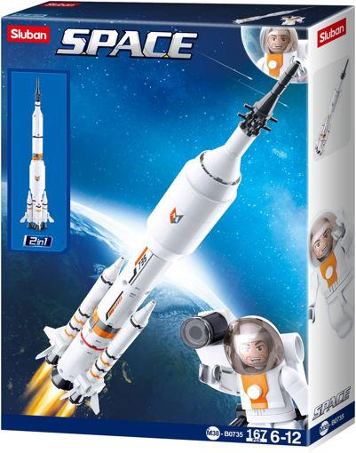 Picture of Sluban M38-B0735 Space Rocket