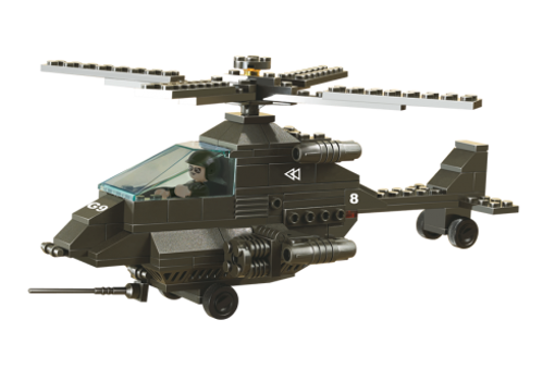Bild på Angrebshelikopter Apache, Sluban attack helicopter M38-B6200
