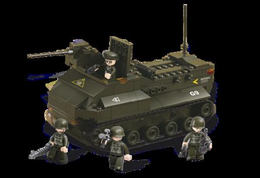 Billede af Armeret militær køretøj, Sluban armoured vehicle M38-B6300