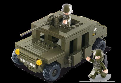 Billede af Armeret jeep,Sluban Armoured Vehicle M38-B0297