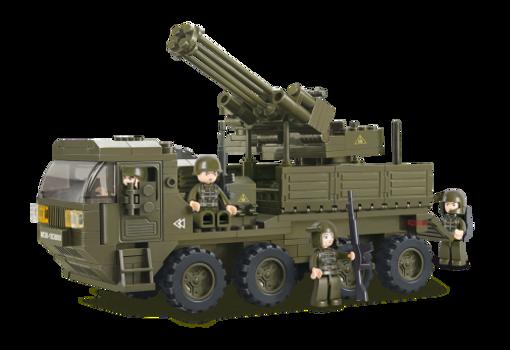 Billede af Heavy Equipment Transporter,Sluban Heavy Equipment Transporter M38-B0302