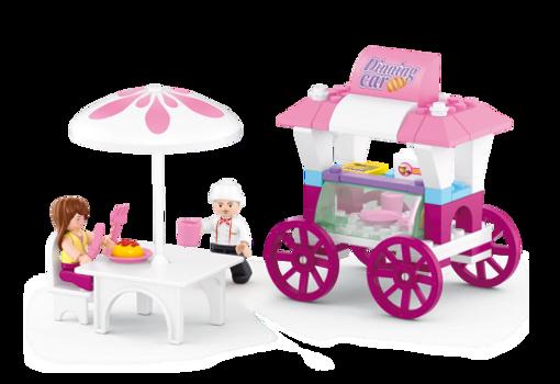 Billede af Cafe vogn, Sluban Food Stall M38-B0522