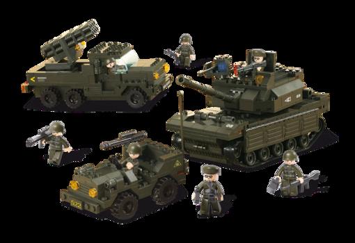 Billede af Army set, Sluban Army Set M38-B6800