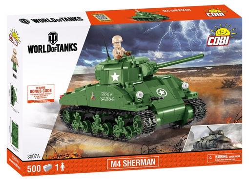 Bild på Cobi World of Tanks 3007A M4 Sherman A1-Firefly