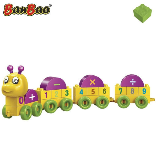 """Bild på BanBao """"Tal"""" Larve - DEMO"""