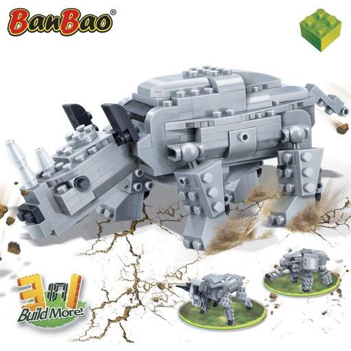 Bild på BanBao 6851 Creatables Forhistorisk næsehorn