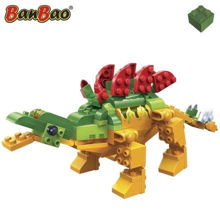 Bild på BanBao 6860 Dinosaur Stegosaurus