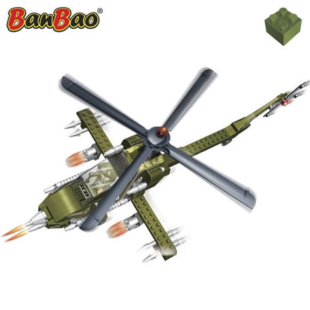 Picture of BanBao 8238 World Defence Apache helikopter