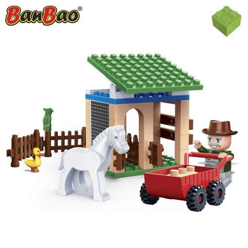 Billede af BanBao 8588 EcoFarm Lille stald