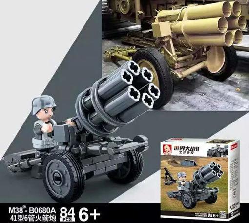 Sluban M38-0680A German WWII Rocket launcher