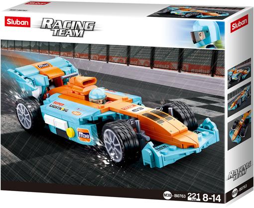 Sluban M38-B0763 racingcar