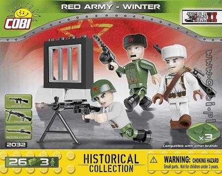 Cobi Small Army WW2 2032- Red Army Winter