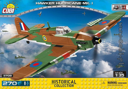 Cobi Small Army WW2 5709- Hawker Hurricane Mk.I