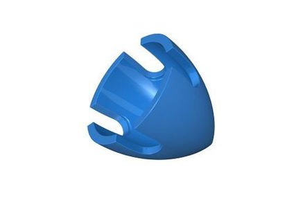 COBI 102470 Propeller hubcap (4) blue