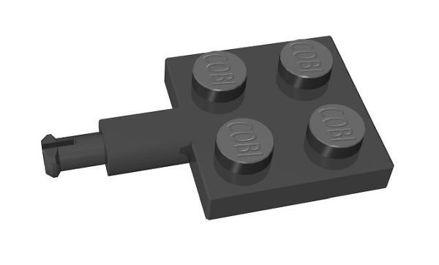 COBI-75997 2x2 1/3 long shaft, black