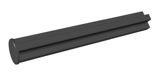 COBI-74446 Single-sided 35 mm pin hole black