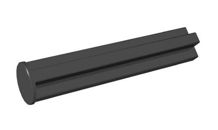 COBI-43473 Single-sided 25 mm pin hole black