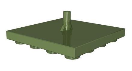 COBI-59544 4x4 1/3 Hook duo green