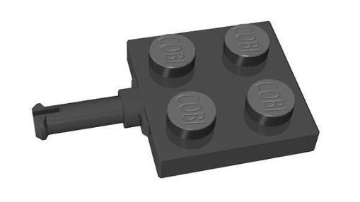 COBI-80535 2x2 1/3 with two wheel axle, black