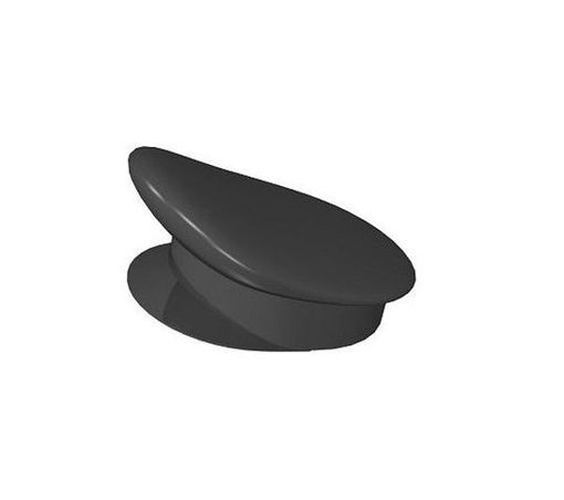 COBI-55866 Officer's cap black