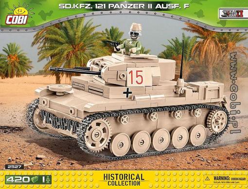 COBI WW2 2527 Sd.Kfz.121 Panzer II Ausf. F