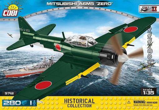 Cobi WW2 5712 - Mitsubishi A6M5 Zero