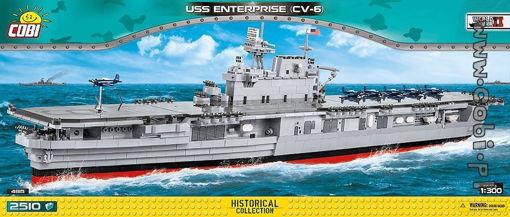 COBI WW2 4815 USS Enterprise