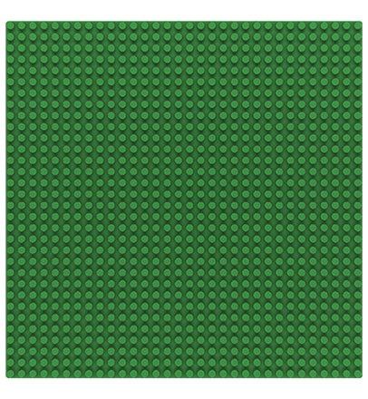 Sluban base plate green 32x32 M38-B0833C
