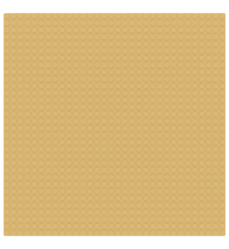 Sluban base plate sand 32x32 M38-B0833A