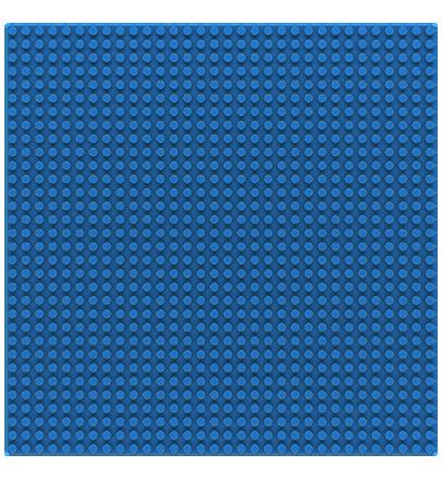 Sluban base plate blue 32x32 M38-B0833E
